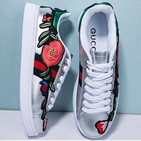 Tagre shosouvenir:Gucci Ace embroidered low-top sneaker