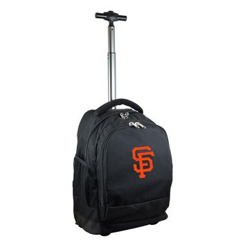 San Francisco Giants Wheeled Premium Backpack