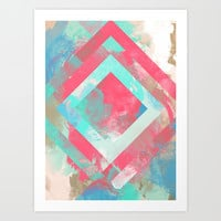 Watercolor Art Print by Emmy Winstead
