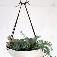 Faceted Hanging Tray