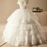 Royal Lady Off The Shoulder Ball Gown