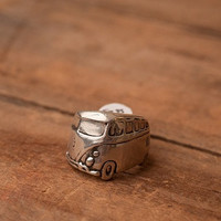 Sterling Silver Volkswagen Ring