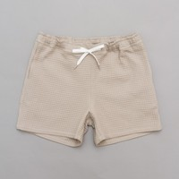 A Kind Of Guise Waffle Shorts (Light Grey) | Oi Polloi