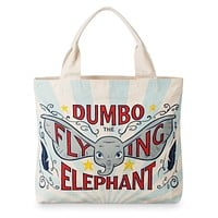 Disney Dumbo Live Action Film Large Tote Bag New with Tags