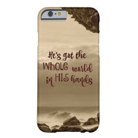 Inspirational: He's Got the Whole World in His Barely There iPhone 6 Case