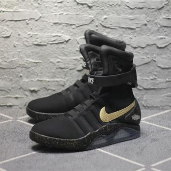Nike air max Back to the Future Black Basketball shoes Size 40-45