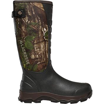 "LaCrosse Men's 4xAlpha 16"" Waterproof Hunting Snake Boot 11 Realtree Xtra Green"