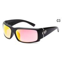 2018 NEW Visual Charge Gloss Black/Fire Wrap Msrp Sunglasses