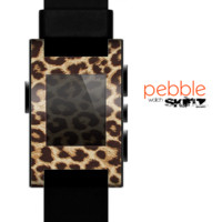 The Simple Vector Cheetah Print Skin for the Pebble SmartWatch
