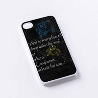 Adventure Time Finn Quote iPhone 4/4S, 5/5S, 5C,6,6plus,and Samsung s3,s4,s5,s6