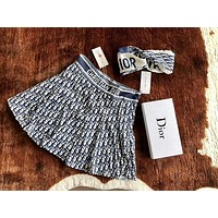 Dior Newest Fashion Women Letter Print Skirt