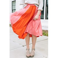 Janessa Pleated Skirt