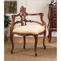 Park Avenue Collection French Salon Corner Chair