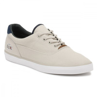 Lacoste Mens Light Grey Jouer 317 1 Trainers