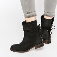 Free People Cambridge Suede Wrap Boots