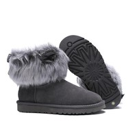 Women's UGG snow boots Booties DHL _1686248855-468