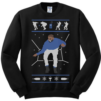 1-800 Hotline Bling ugly Drake Christmas Sweater UNISEX 1-800-hotlinebling 1-800-hotline bling 1 800 hotline bling white elephant