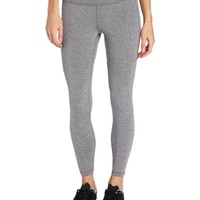 U.S. Polo Assn. Women's Easy Fit Workout Legging, Thermal Grey, Medium