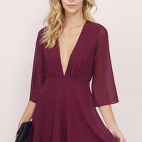 Night Flight Flare Dress $44