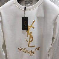 Saint Laurent YSL Fashion Pullover Sweatshirt