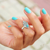 hamsa hand Ring,evil's eye jewelry,lucky jewelry,friendship rings,Oceantime