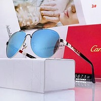 Cartier New fashion polarized men glasses eyeglasses 3#