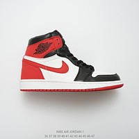 Air Jordan 1 Retro High OG SIX CHAMPIONSHIPS Summit White/Track Red-Black