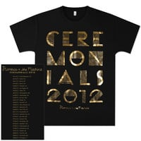 Florence and The Machine Ceremonials Text Tour T-Shirt