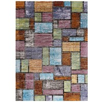 Success Nyssa Abstract Geometric Mosaic 8x10 Area Rug