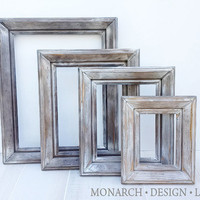 Frame Set Wall Gallery Collection - Beach Wood Collection Set Of 4