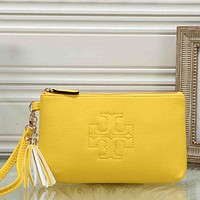 Tory Burch Women Fashion Pattern Leather Hand bag