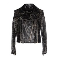 Golden Goose Biker Jacket - Women Golden Goose Biker Jacket online on YOOX United States - 41649595PF