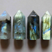 Polished Labradorite Point  - B572