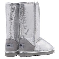 """UGG"" Women Fashion Sequins Wool Snow Boots Shoes"