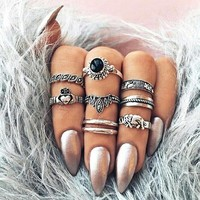 Gift Shiny Jewelry Stylish New Arrival Vintage Crown Diamonds Hot Sale Ring [11856498383]