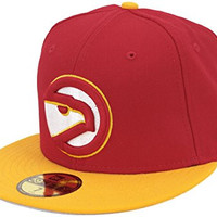 New Era Atlanta Hawks 2003 All Star Game Side Patch Fitted Cap, 7 1/4