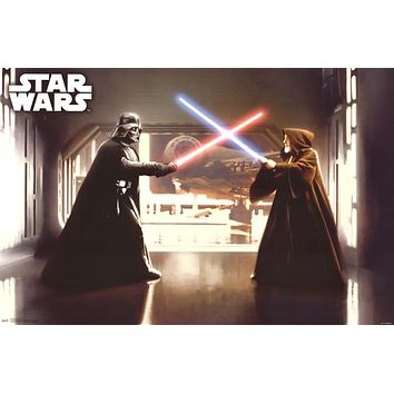 Star Wars The Final Duel Poster 22x34