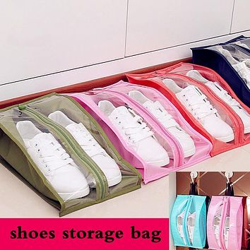 New Home Travel Shoes Bag Shoe Organizer Keeper Storage Waterproof Dustproof Shoes Box