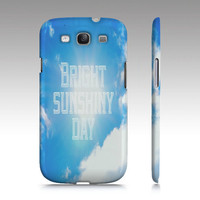 "Samsung Galaxy S3 Covers - iPhone 5,4,4s Case ""Sunshiny Day"""