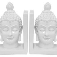 One Kings Lane - Restyle Your Surfaces - Pair of Buddha Bookends