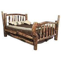 Montana Woodworks Glacier Country Character Bed