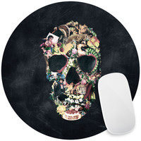 Vintage Skull Mouse Pad Decal