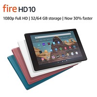 """Fire HD 10 Tablet (10.1"""" 1080p full HD display, 32 GB, latest model) – Black With Special Offers Fire HD 10"""