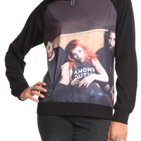 Paramore Sublimation Girls Pullover
