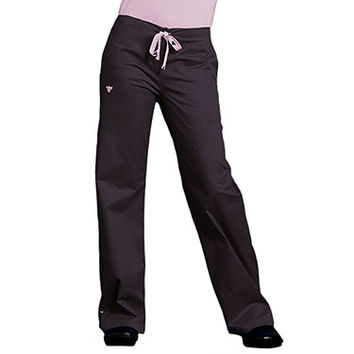 Med Couture Women's Drawstring Solid Scrub Pant   allheart.com