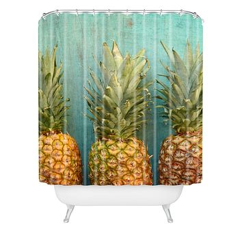 Olivia St Claire Tropical Shower Curtain
