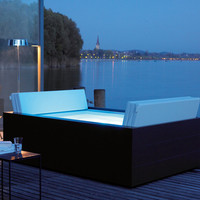 Sundeck by DURAVIT | Outdoor whirlpools | Outdoor pools