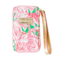 Lilly Pulitzer iPhone 6 Carded ID Smart Phone Wristlet