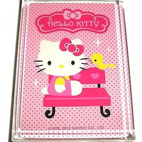 Pink Hello Kitty Acrylic Executive Display Piece or Desk Top Paperweight