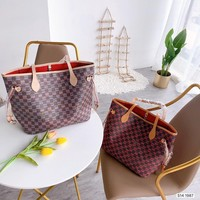 8-21[NEW] Louis Vuitton 2020 new large-capacity ladies handbags old flowers latest 3D fabrics
